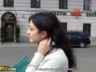 Rubia en anal público joder vídeo
