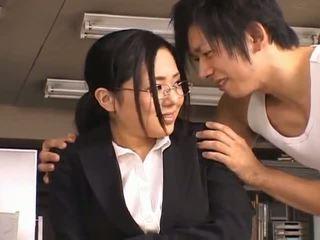 Sora Aoinaughty asian secretary enjoys getting fucked at break time