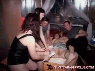 Velvet swingers ناد - حقيقي الهاوي couples ليل: الاباحية b9