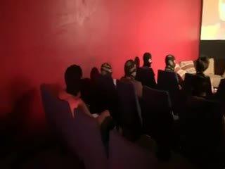 брюнетка, групов секс, френски