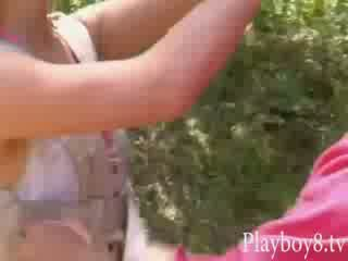Vier insane heet playmates tries uit naar zijn een stunt vrouwen