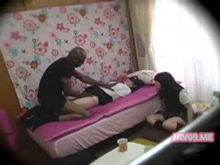 Skjønn hot koreansk babe puling