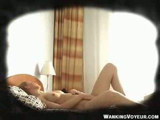 Voyeur Spycam Young Girl caught Masturbating 7