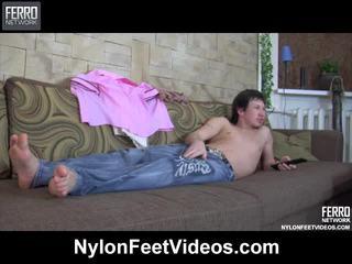 Paulina en rolf breathtaking panty voeten film scène