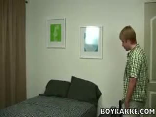 Cute Blonde Twink Fucked And Jizzed On By Asian Dong