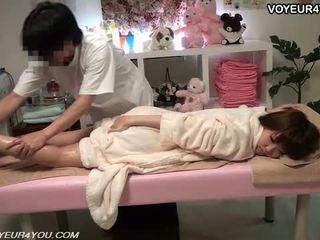 Spa massage therapist geheim indecent