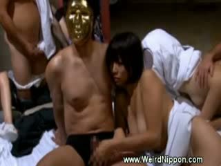 Bizarre japanese hospital sex
