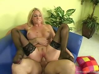 Cougar Boss Orders Her Employee To Fuc...
