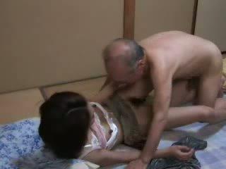 японський, дочка, дідусь