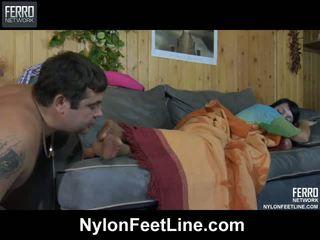 Potrebni guy awaking a sleepy bejba