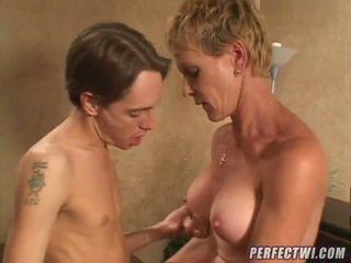 milf sex, reifen, aged lady