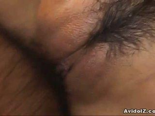 مفلس yuki aida nailed مع امرأة سمراء!
