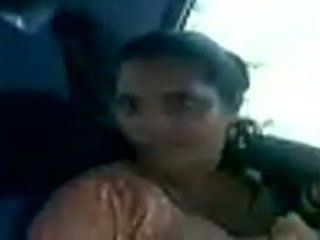 Kerala Aunty Ready To Fuck Her Partner In A Car