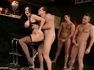 big tits, pornstars, stockings