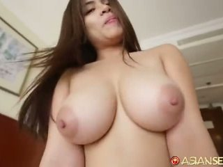 brunette, reverse cowgirl, cock sucking