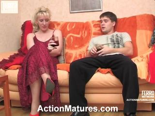 Silvia And Maximilian Nasty Mature Action