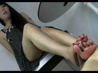 foot fetish, hottest hd porn tube, nice footjob action