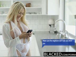 Blacked overspel vrouw capri cavanni loves groot zwart lul creampie