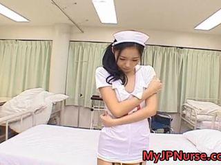 Aino Kishi Asian Nurse Expand Her Legs