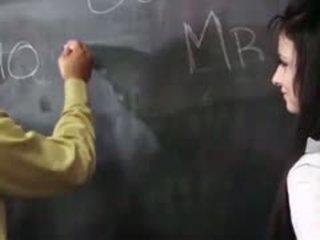 Karstās mandy sky bounces par teachers dzimumloceklis