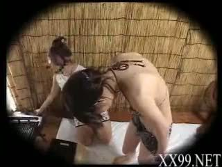 babes, massage, asiatisk