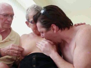 Mormor och morfar med pojke, fria mormor pojke högupplöst porr a1