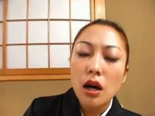 brünett, jaapani, ühtne