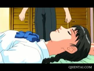 Teen Horny Hentai Couple Having Oral Sex