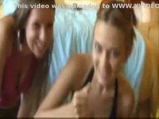 3 meisjes geven de greatest hand baan van alle tijd!