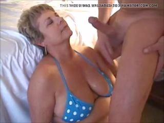 cum in de mond, grannies, matures
