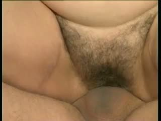 Groß meise oma mathilda gets sie furry thatch pounded