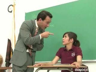 student, godny podziwu, lanie