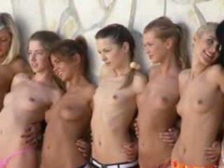 brunete, grupu sekss, webcam