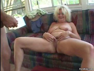 Threesome with Granny and BBW, Free BBW Granny Porn Video bf