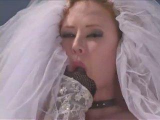 Heet huwelijk jurk