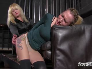 Female Slave is Mistress Anna's Human Ashtray: Free Porn 61