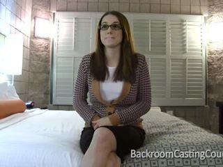 Assfucked secretaresse casting