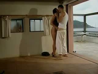 Sexy pár getts nadržané atsea shore