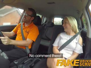 Fake driving مدرسة جنسي discount إلى كبير الثدي شقراء الاسكتلندي فتاة