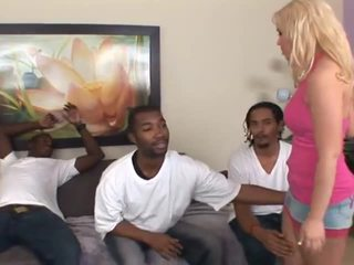 black, gangbang, group