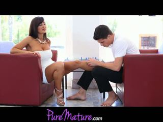 PureMature Busty Mom Lisa Ann Fucks Her Younger Chess Partner