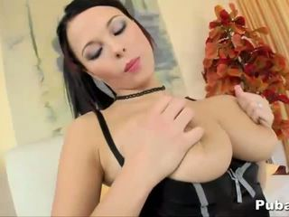 Busty Domino Rides a Dick HOT!
