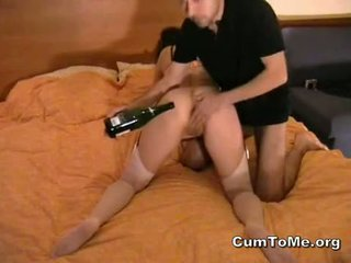 Bottle And Facefuck