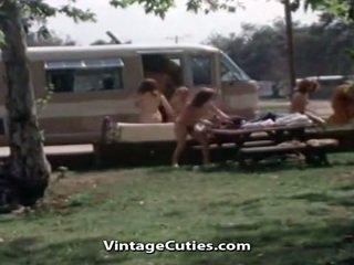 group sex, flashing, vintage