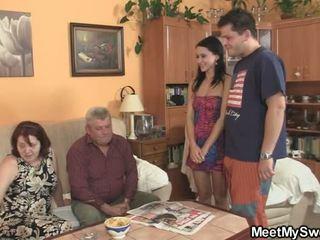 Bloke Bits His Parents Making Love His Honey