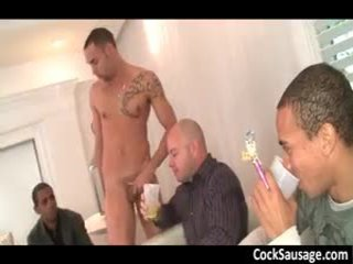Horny Homosexuals Ordered A Stripper Home 7 By SchlongsauSage