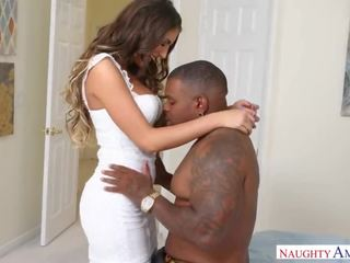 August Ames Interracial Bbc Hotwifing by Rico Strong