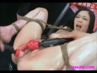 Tied Asian Extreme Toys