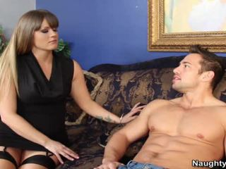 Smut Milf Holly Heart Bounces Her Great Arse Hole Onto Her Sons Companion Snake