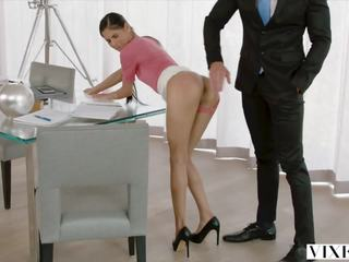 Vixen Bad Intern Begs to be Punished by Her Boss: Porn 86